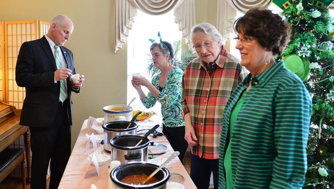 Sample and vote for your favorite chili in Morningside of Gallatin's St. Patrick's Day event.