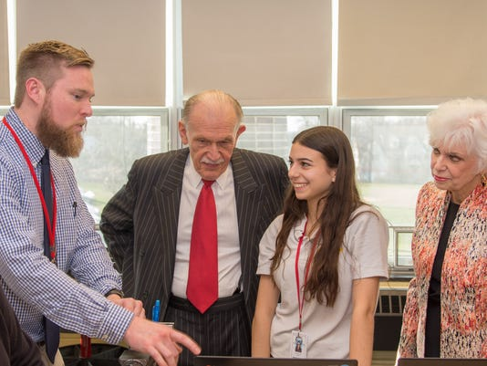 Bishop George Ahr High School unveiled its STEM Leaning Lab
