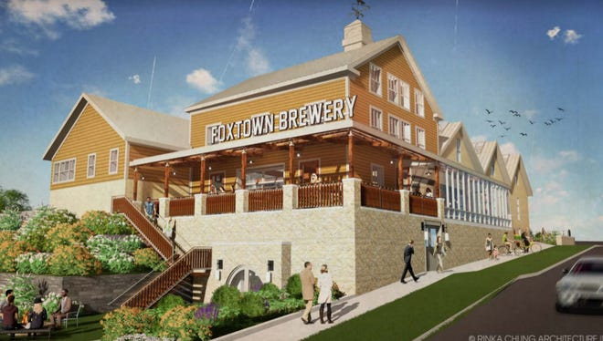 Mequon's proposed Foxtown development, anchored by a craft brewery created within a historic building, could get $4.5 million in city financing help.