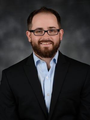 Andrew Denney, assistant professor criminology & criminal justice