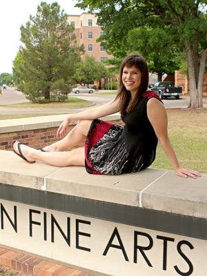 Megan Piehler, a graduating mass communication major, will deliver the commencement address this year for Midwestern State University on May 13.