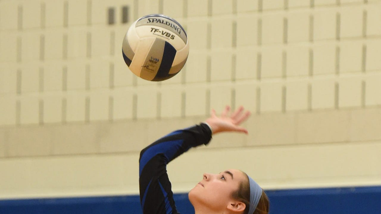 Video: Millbrook volleyball's excitement builds