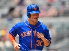 Michael Conforto returns to lineup after missing previous two games