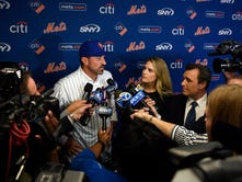 What they're saying: Mickey Callaway introduced as new Mets manager