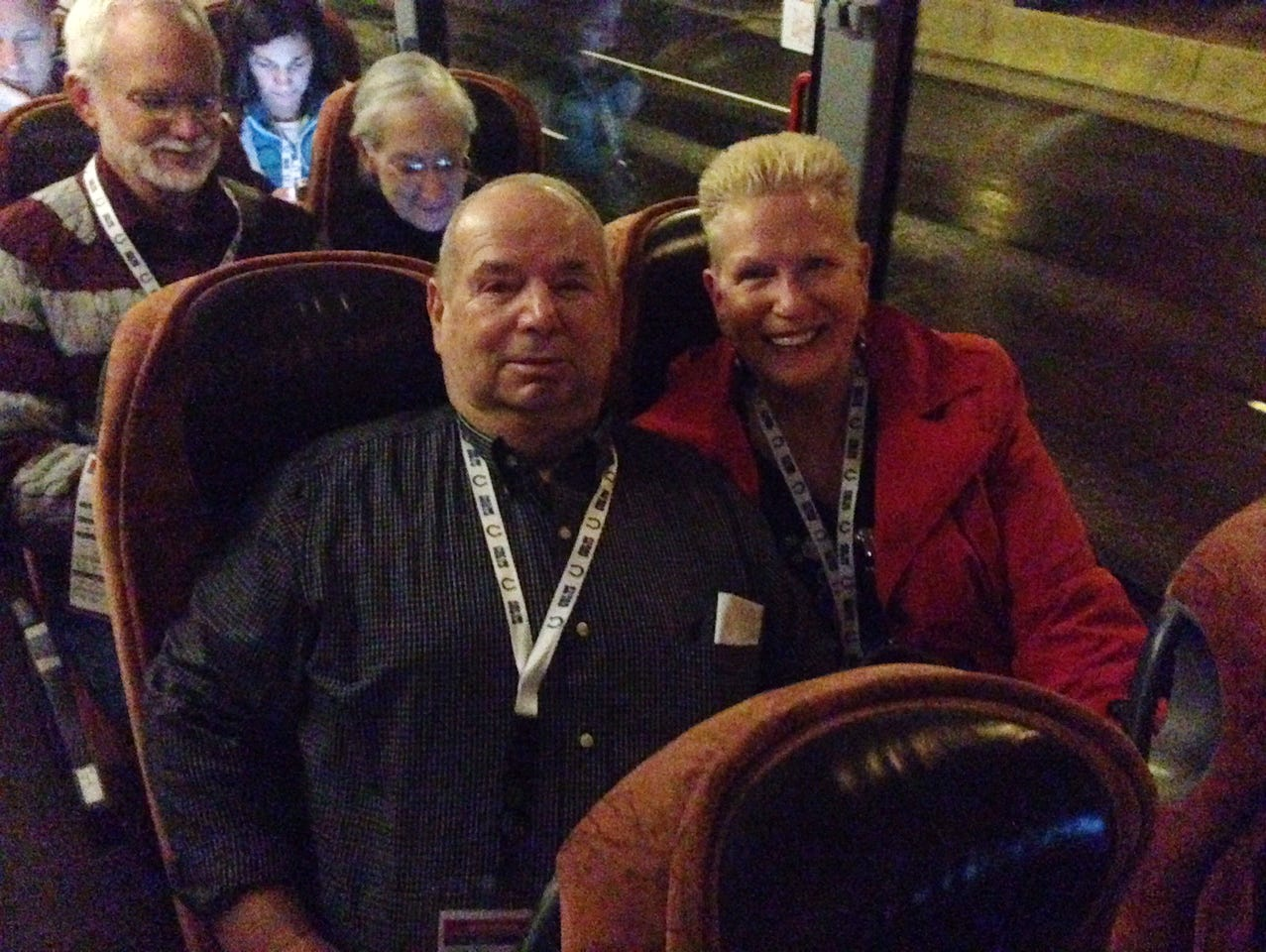 Bud and Ellen Wright are in Phoenix for the Super Bowl, courtesy of Colts Owner Jim Irsay.