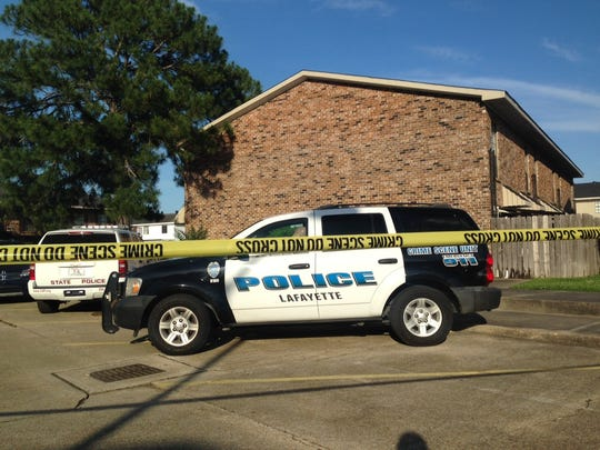 Police are on the scene of a possible explosive device at Bell Downs Apartments on Guilbeau Road.