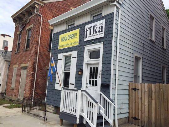 Fika Swedish coffee house, 508 W. 12th, Covington.