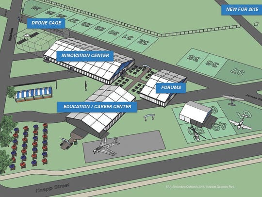 EAA is adding a new area to the convention this year