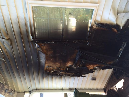A  garage fire that occurred on Aug. 1, 2015 on Guinette Street in the city of Fond du Lac was caused from a spontaneous combustion of a chemical-soaked towel.