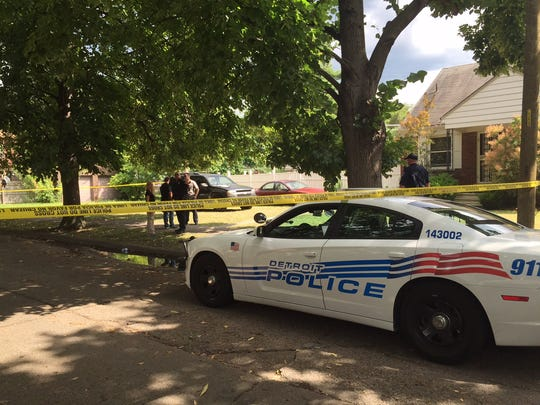 Detroit Police cordoned off a portion of Eastwood on the city's east side after a 3-year-old boy was accidentally shot on Monday afternoon.