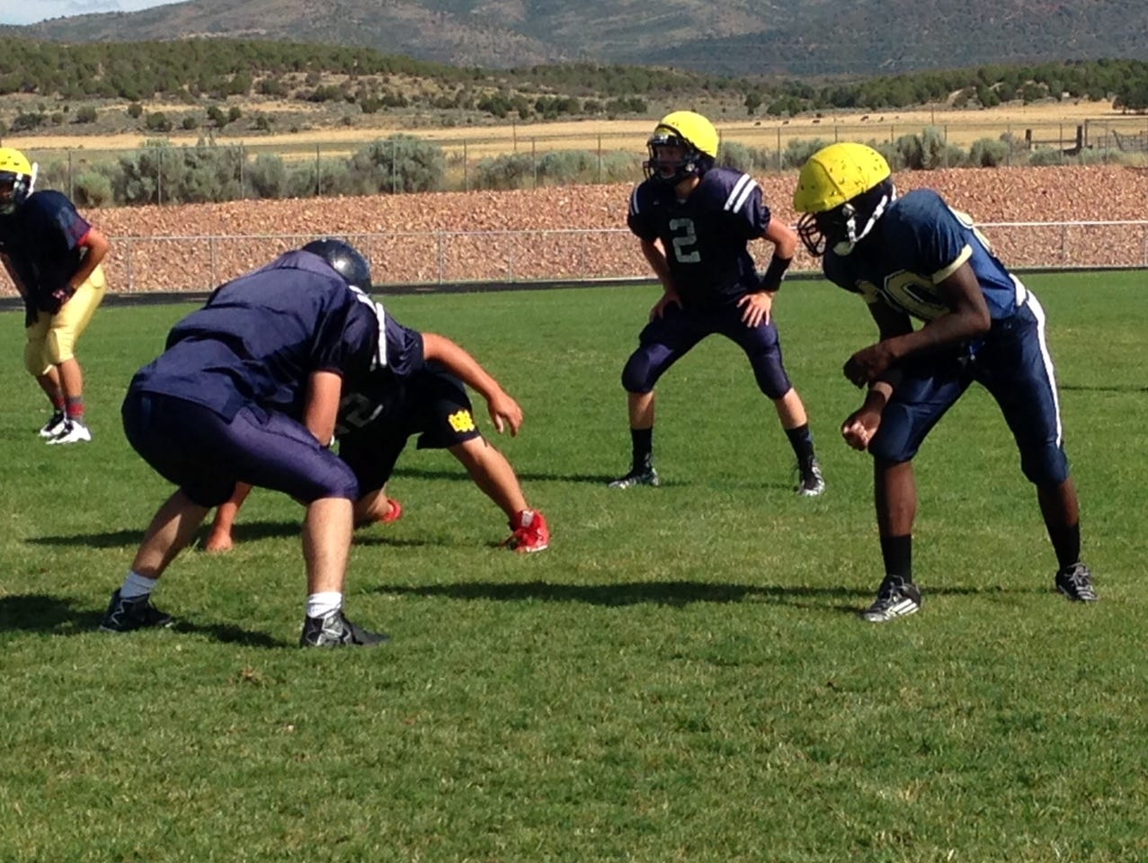 Enterprise Wolves have plenty of both speed and strength on the offensive and defense lines this season.