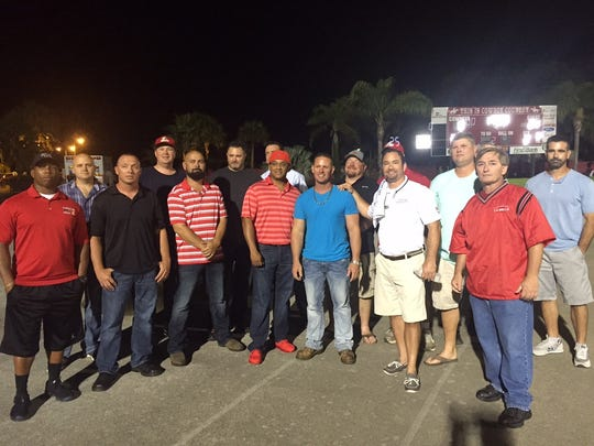Members of the Labelle Class 3A state football runner-up championship team from 1995 met on Aug. 20 for a 20-year reunion of the team's season.