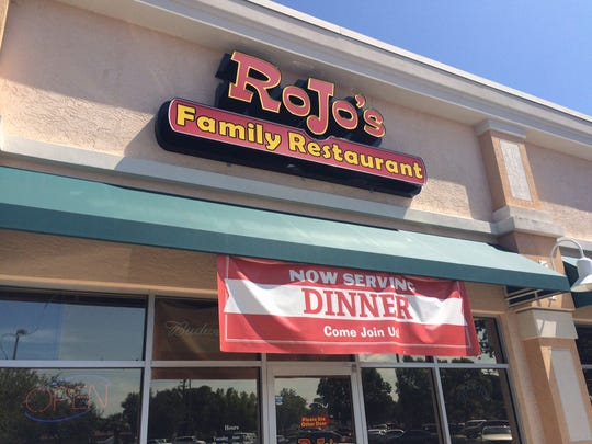 RoJo's sits in the Publix-anchored plaza at Hancock Bridge Parkway and Orange Grove Boulevard in North Fort Myers.