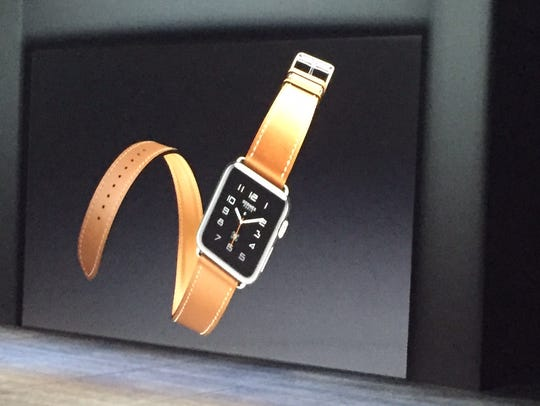 Apple is partnering with Hermes on watches.