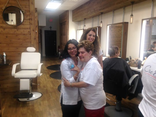 Cre8 Salon & Spa owne3r Marcy Moreno watches are her