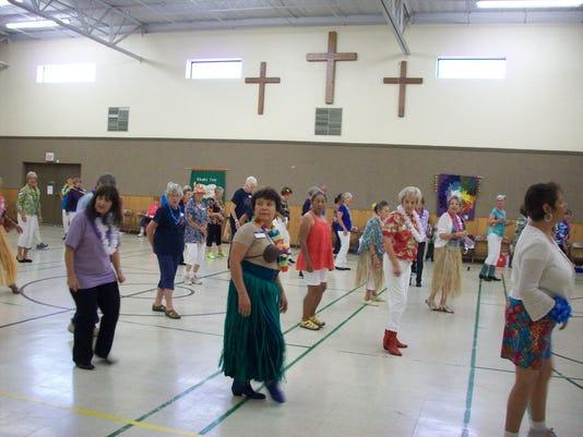 Zia Zingers host dance jamboree