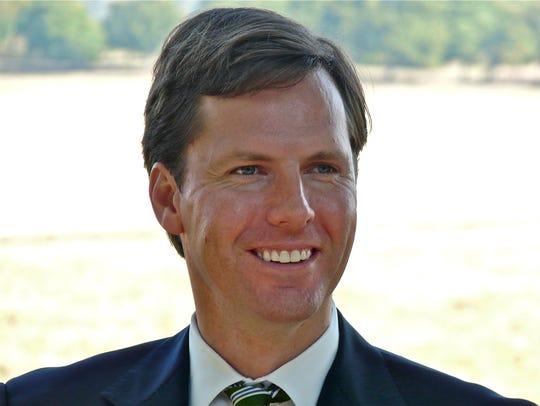 Former state Auditor Adam Edelen.