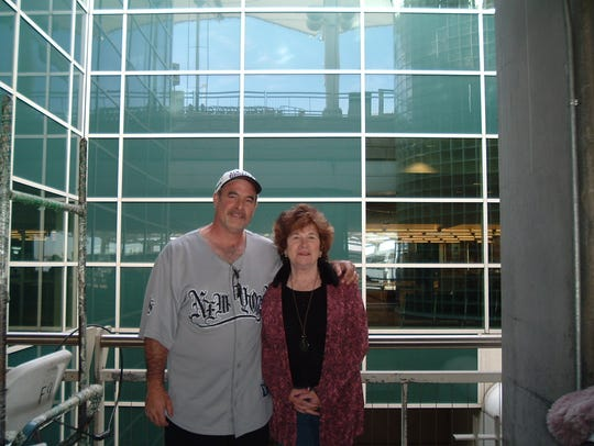 A submitted photo of Mark Constantino and Janice Oberding