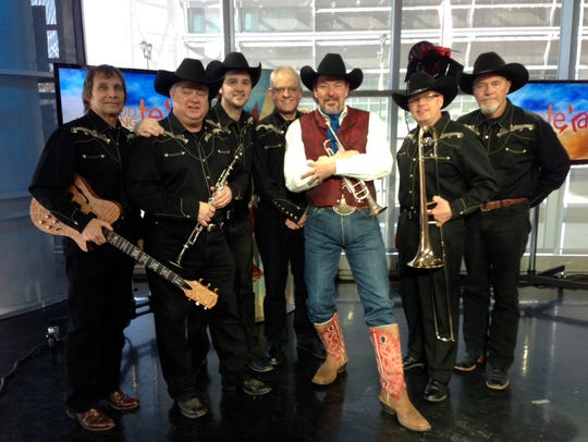 """Dave and his """"Big Texas Swing Band"""" perform at 10 a.m."""