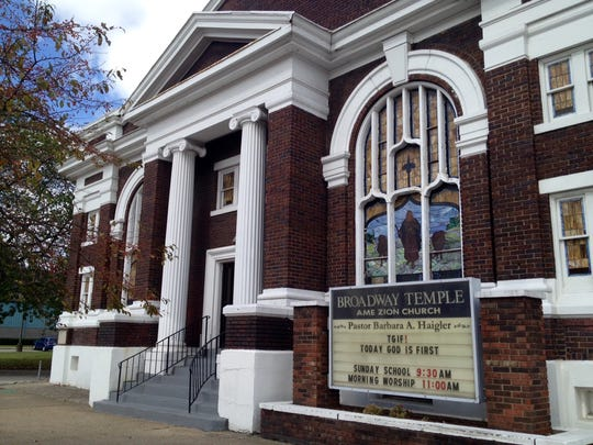 Broadway Temple AME Zion Church will celebrate the 100th anniversary of its Samuel Plato-designed building on West Broadway  on Oct. 25.