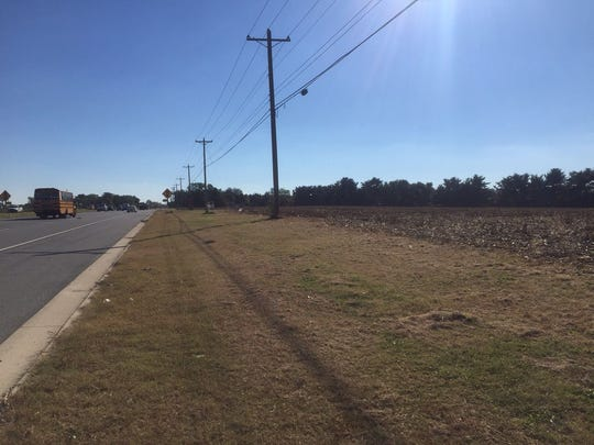 The intersection of DuPont Highway and Boyds Corner Farm Road has been approved for commercial development.