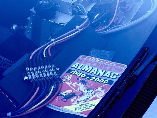 Jeff Gladding's DeLorean comes complete with a Sports