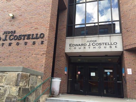 The Edward J. Costello courthouse on Cherry Street