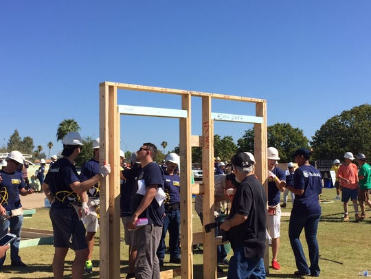 More than 100 Prudential Financial employees helped