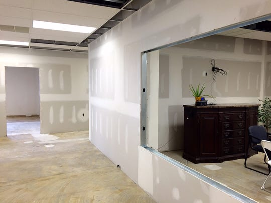 Inside the Nature Labs facility Monday, Oct. 26, 2015.