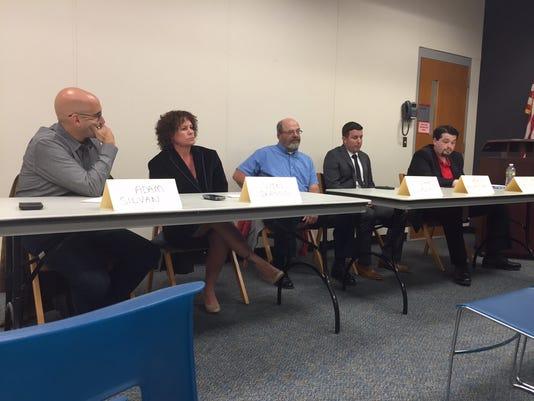 Jackson school board candidates
