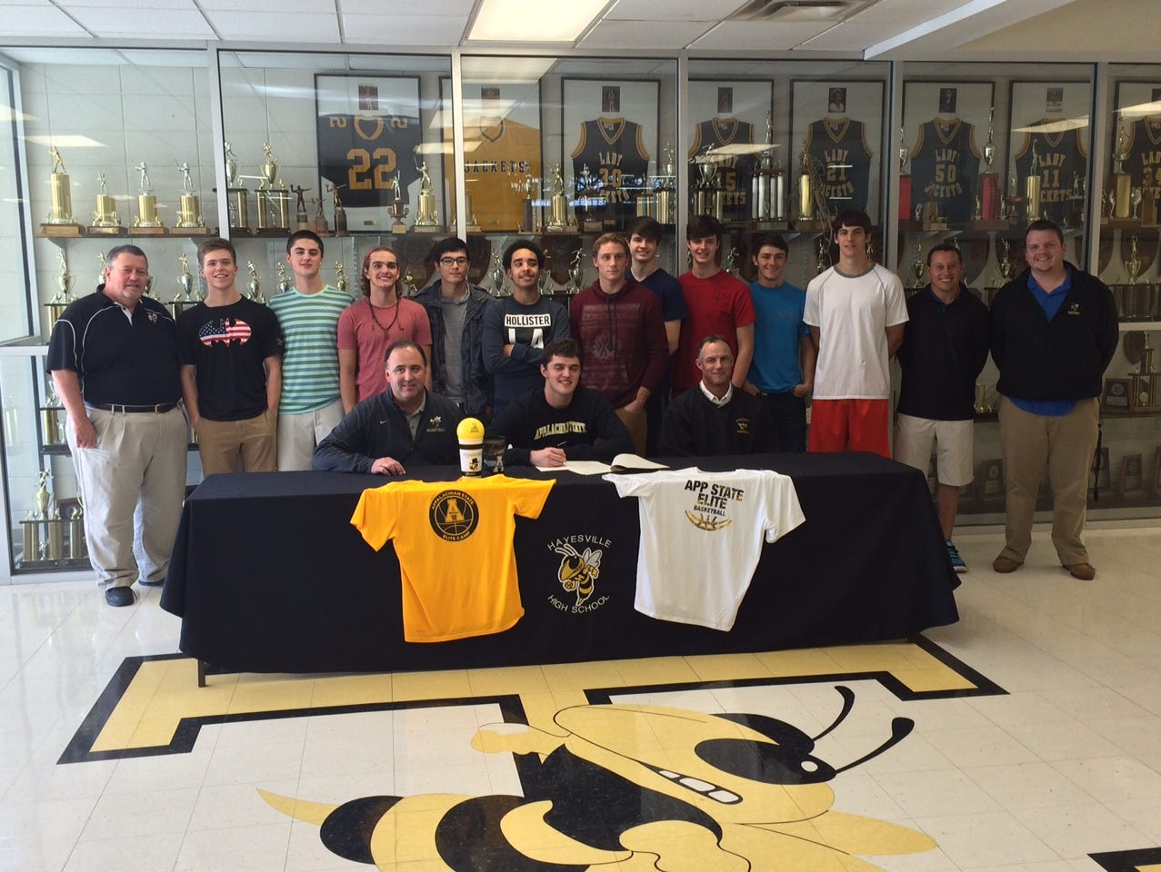 Hayesville senior Zach Cottrell has signed to play college basketball for Appalachian State.
