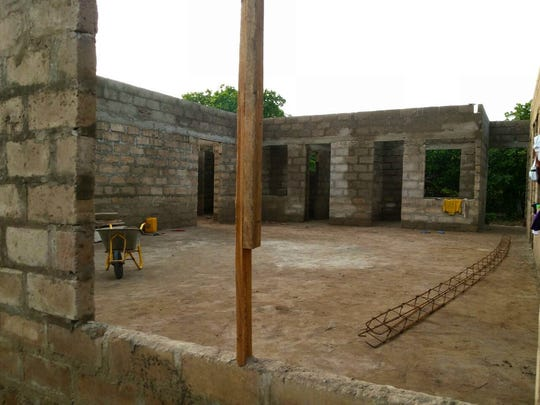 Construction has begun a 9,600 square-foot birthing center in Sampa, Ghana, thanks in part to the fundraising efforts of Marist College professors and students.