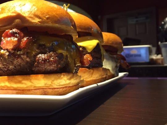 Burgers are always popular at Big Shots.