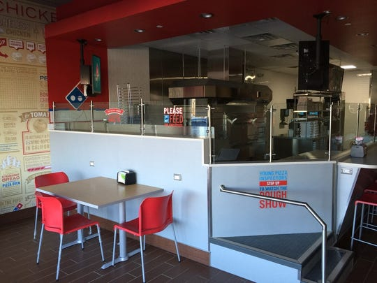 Broad Ripple's new Domino's sports an open kitchen