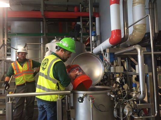 Test Brewing at New Belgium