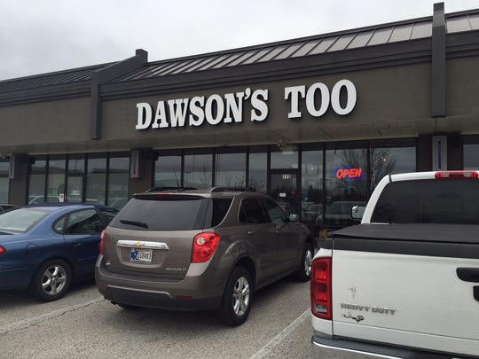 Two employees of Dawson's Too restaurant, on East Main