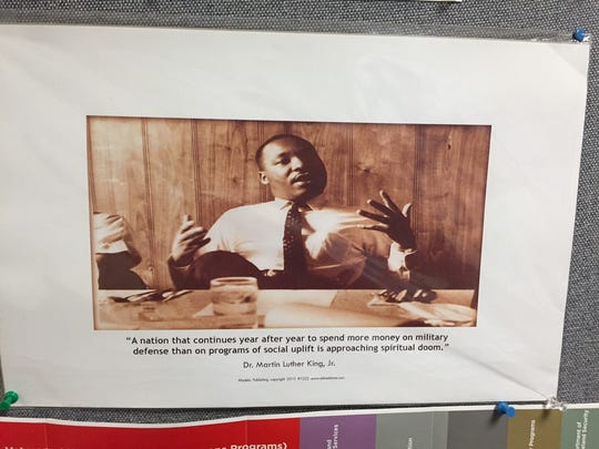 Many photos of Martin Luther King Jr. can be found