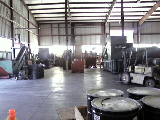 Greentree operates a recycling center east of Ruidoso