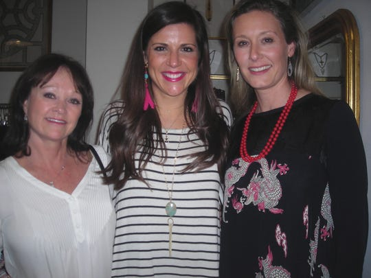 Mitzie Overdyke, Emily Evans, Laura-Ashley Overdyke