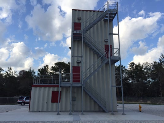 TFES fire training facility