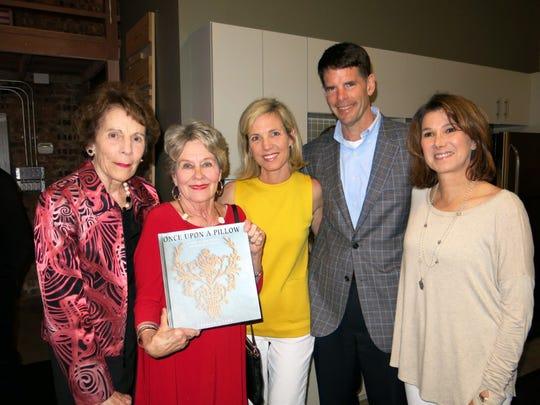 Sybil Patten, Zama Dexter, Anne and hubby, Shreveport