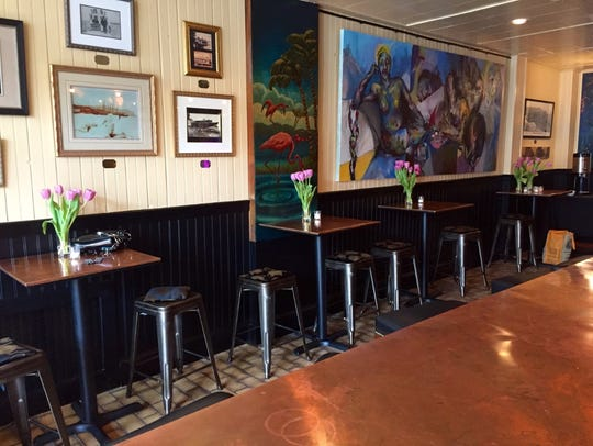 The  interior of the renovated O'Donoghue's Tavern in Nyack.