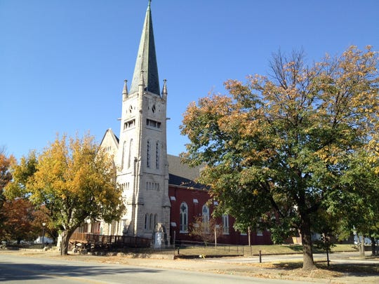Pews and other furnishing have been removed from St. Peter's United Church of Christ, 1225 W. Jefferson St., but the church's pastor said it still plans to preserve the buiilding.