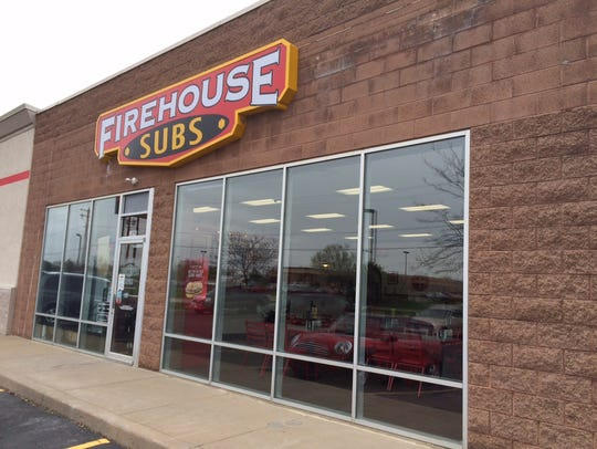 Steve Ahrens, who will open the Fond du Lac Firehouse Subs, also owns the Oshkosh restaurant pictured.