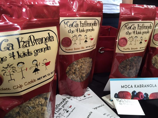 MoCa KaBranola granola is one of the new vendors at the TD Saturday Market this year.