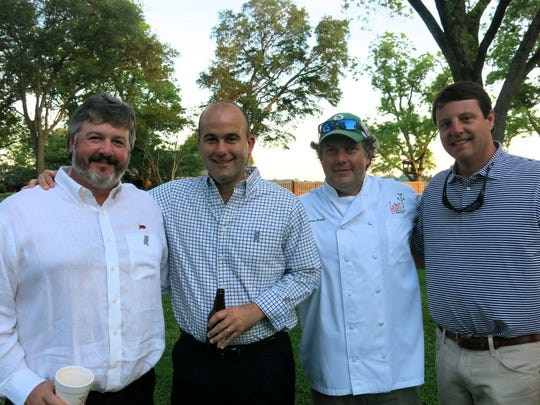 Knighton Sample, James Flurry, Chef Jason Brady, Carl