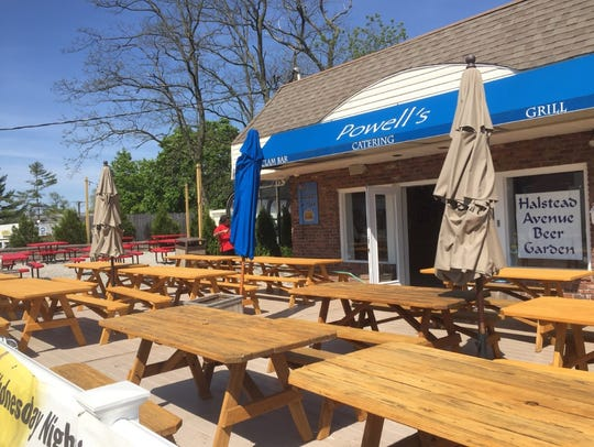 Halstead Avenue Beer Garden is the latest area destination