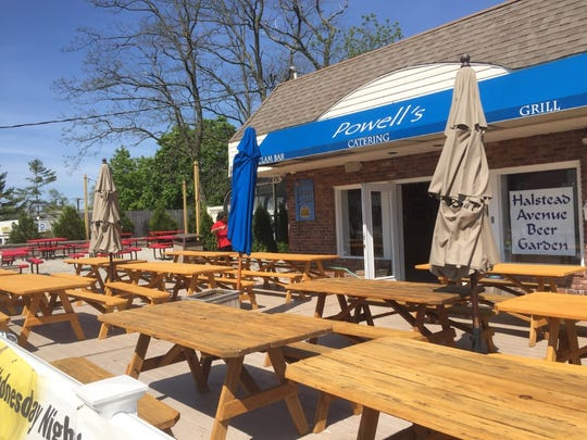Halstead Avenue Beer Garden is the latest area destination for outdoor dining.
