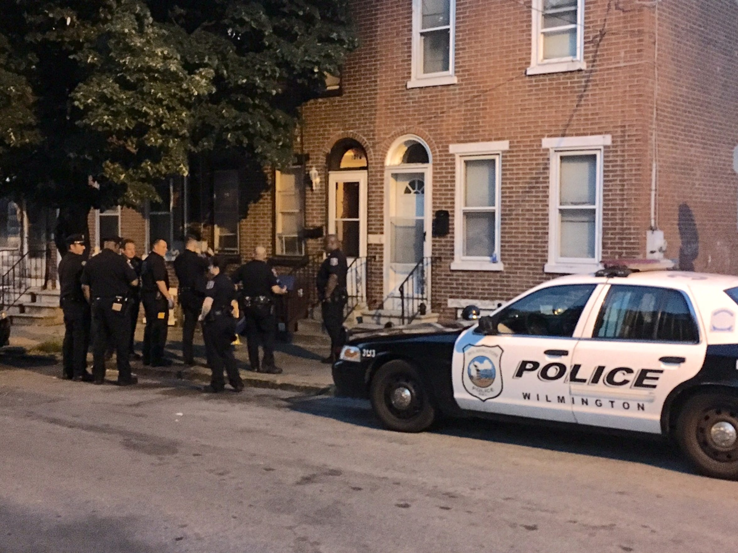 Police investigate the shooting of a 16-year-old boy in Wilmington.