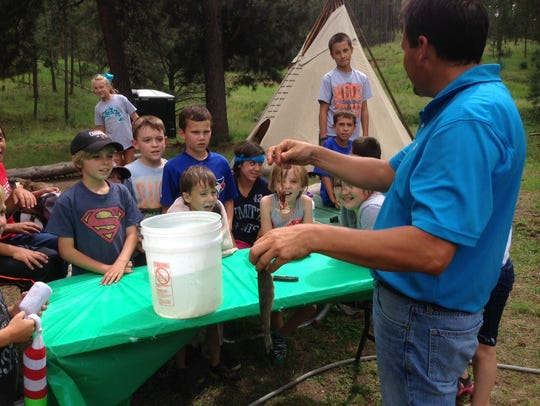 Wilderness camp registration is going on now. Campers